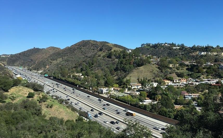 Clean Vehicles - Highway in California