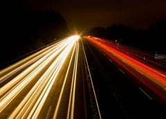 Fuel Cell Vehicles Gaining Momentum according to report - Highway at Night