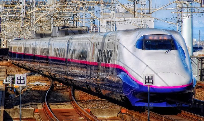 Fuel Cells - Train in Japan