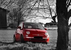 Hydrogen Fuel Improvement - Image of Fiat 500