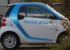 Hydrogen Fuel and Electric Vehicles - Image of Small Electric Car