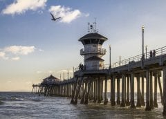 Renewable Energy - Image of Pier in Huntington Beach, California