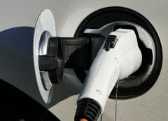 electric Vehicles - Electric Car being charged