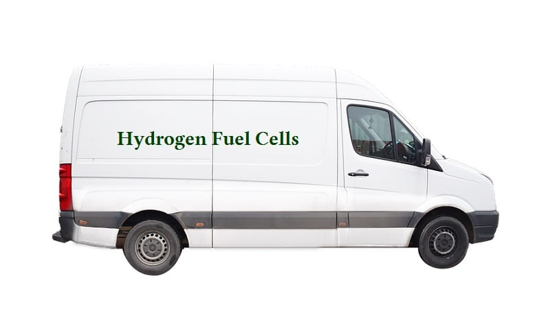 Fuel Cell Vehicles - Hydrogen Powered Van