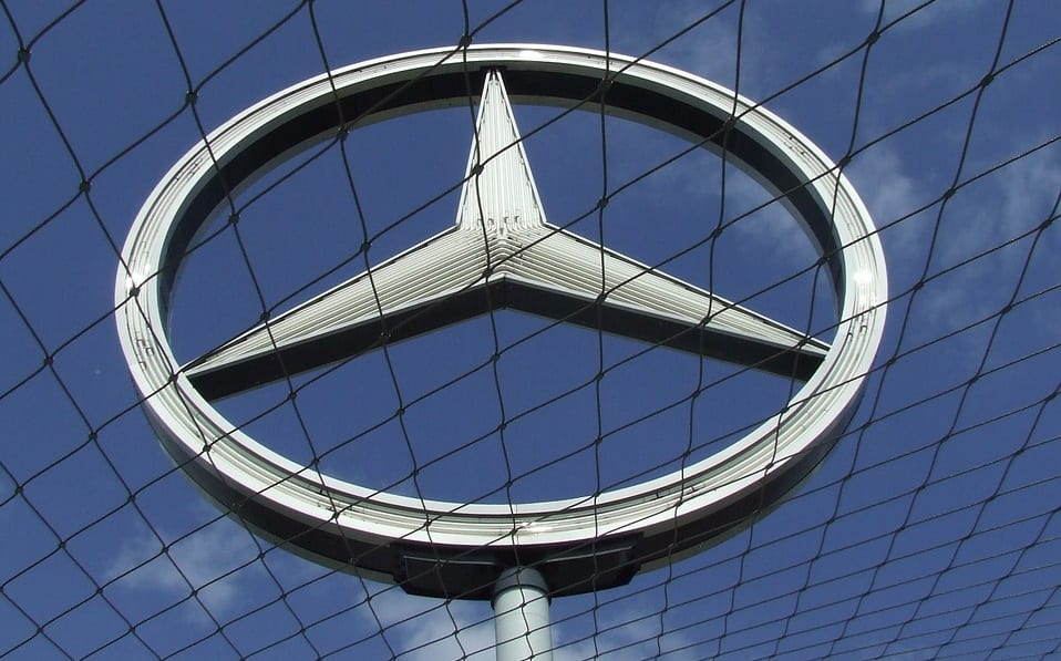 Fuel Cells - Daimler Mercedes-Benz logo
