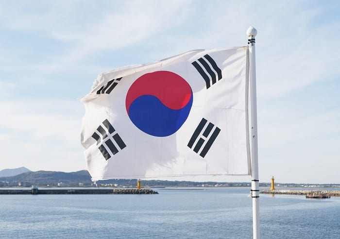Hydrogen Fuel - Environment - South Korea Flag
