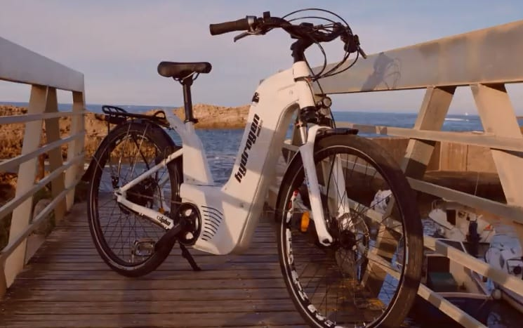 Hydrogen Fuel Powered Bike from Pragma Industries