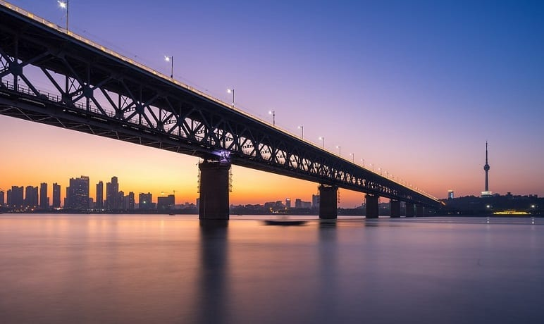 Hydrogen Fuel - Wuhan Yangtze River Bridge