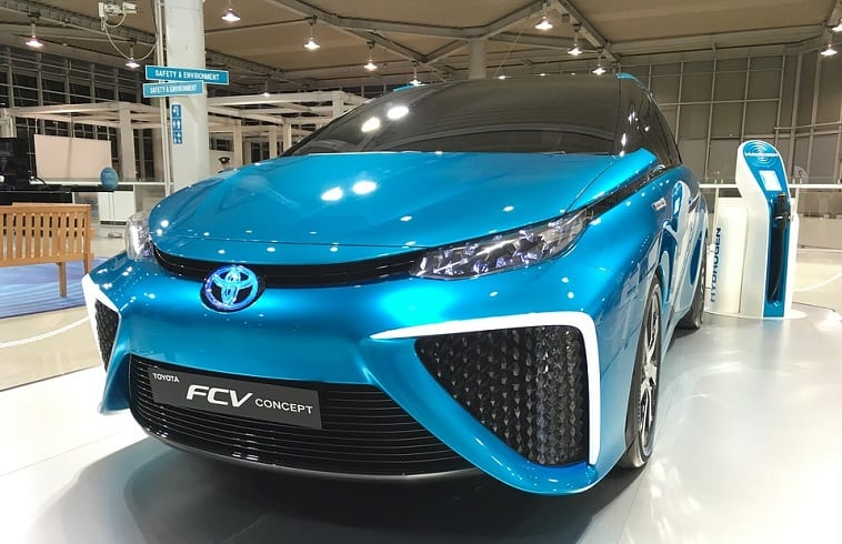 Toyota Mirai is coming to Canada