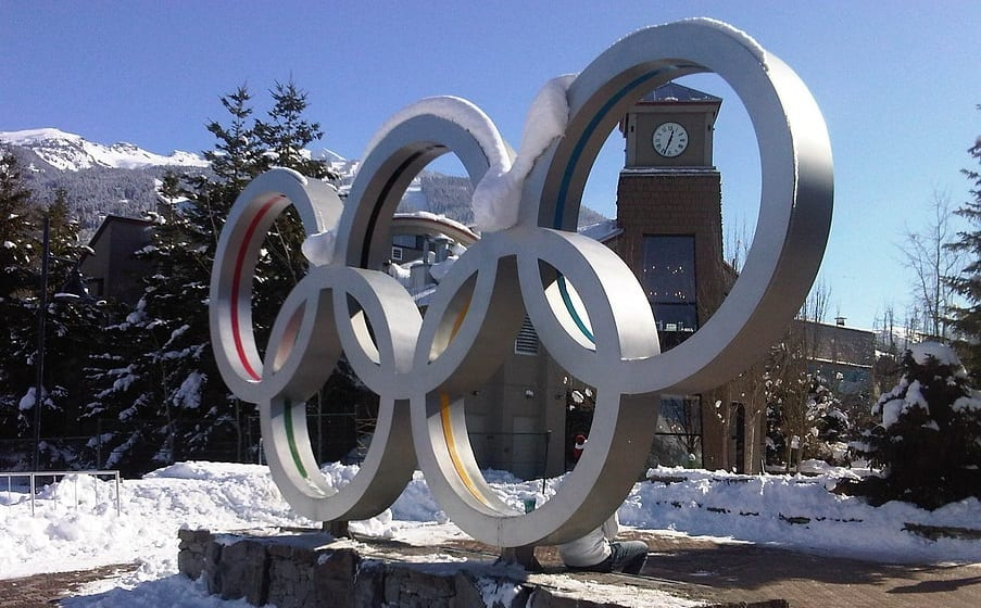 Clean Vehicles - Olympic Rings - Winter Olympics