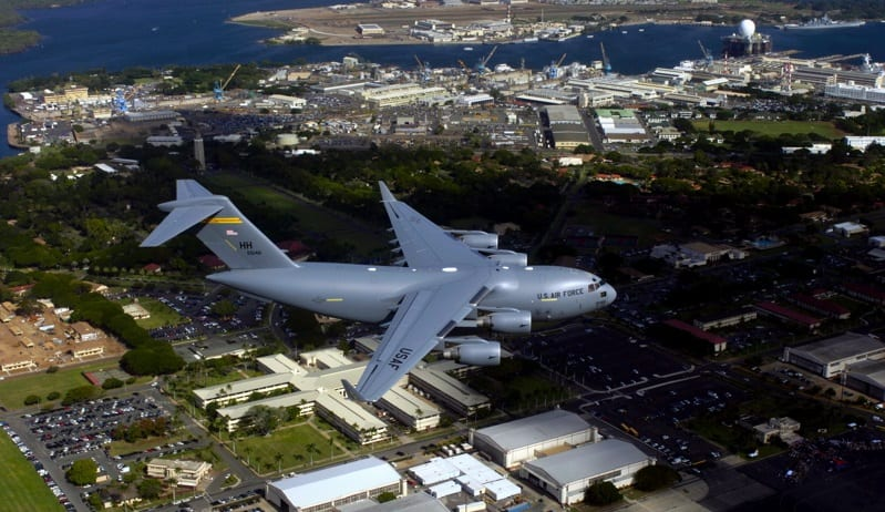 Hydrogen Fuel - Air Force Hawaii - Pearl Harbor-Hickam
