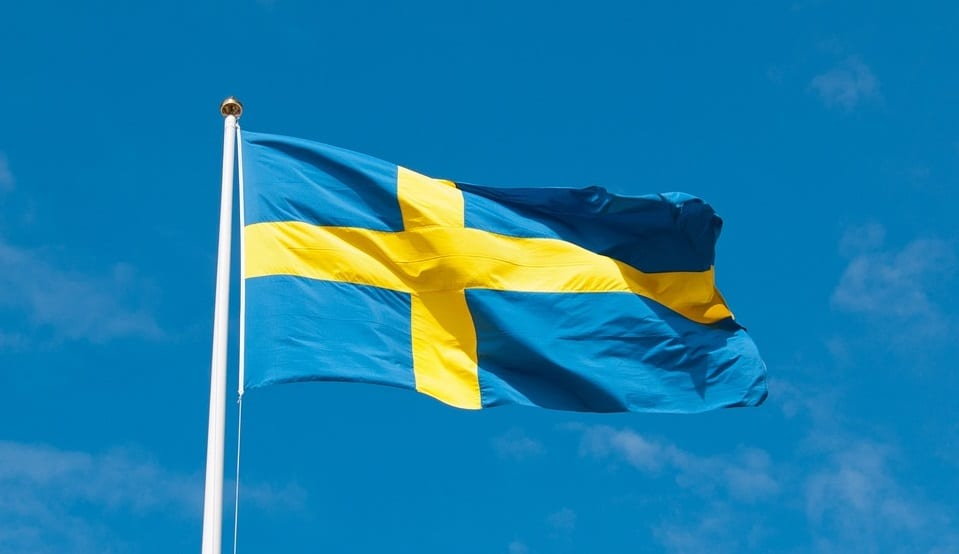 Hydrogen fuel in Sweden - Swedish Flag