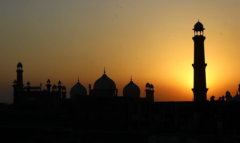 Renewable Energy - Pakistan and setting sun