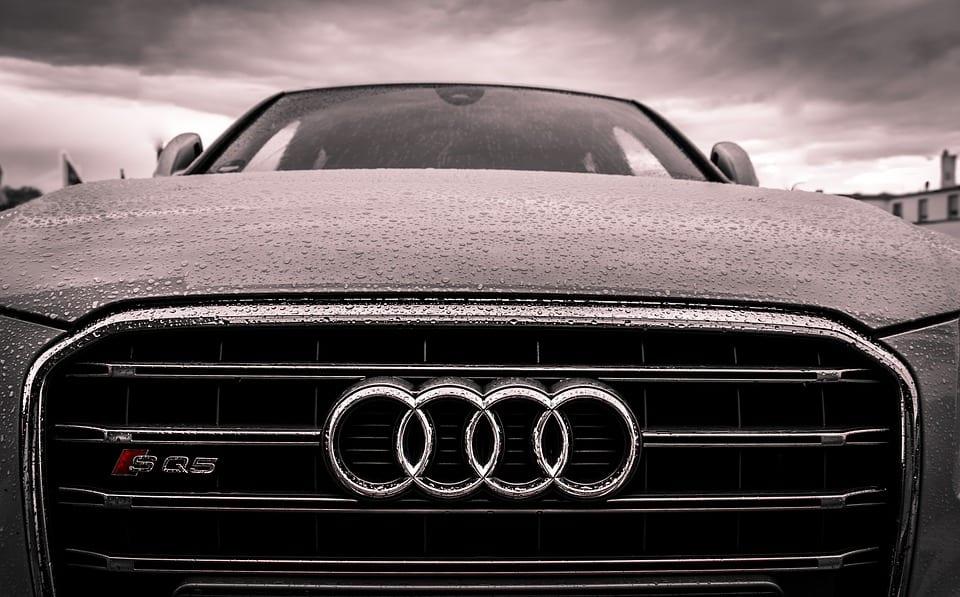 Clean Vehicles - Audi logo on car