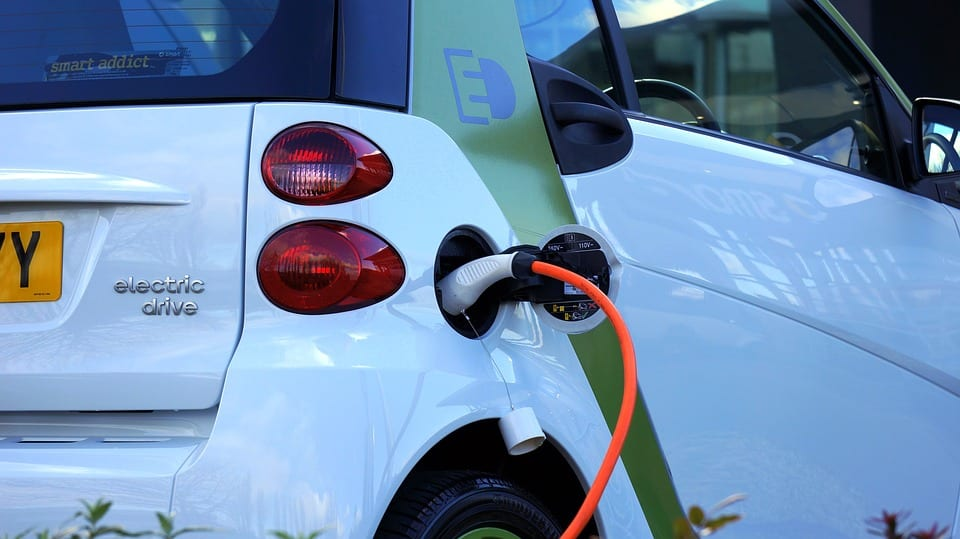 Electric Vehicles - Image of Electric Car Charging