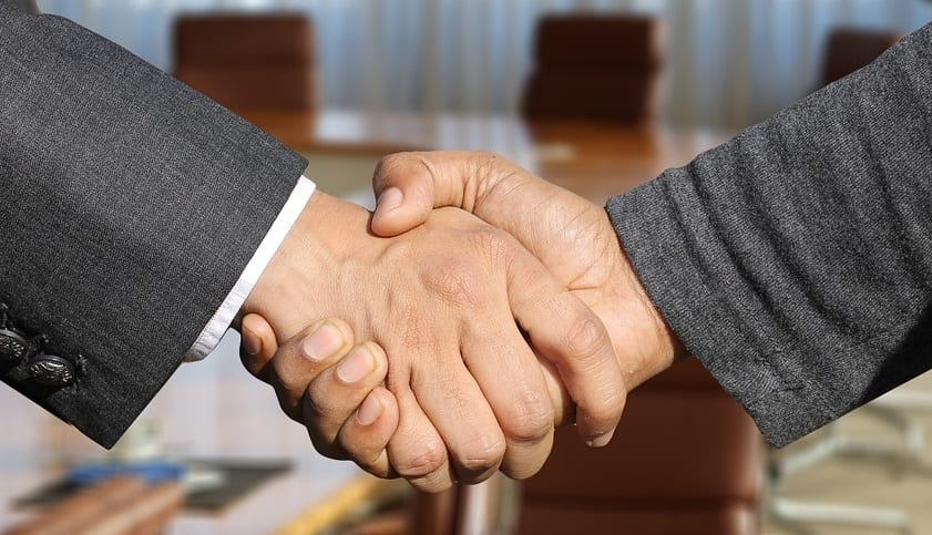 Hydrogen Council - New Memeber Welcome - Handshake