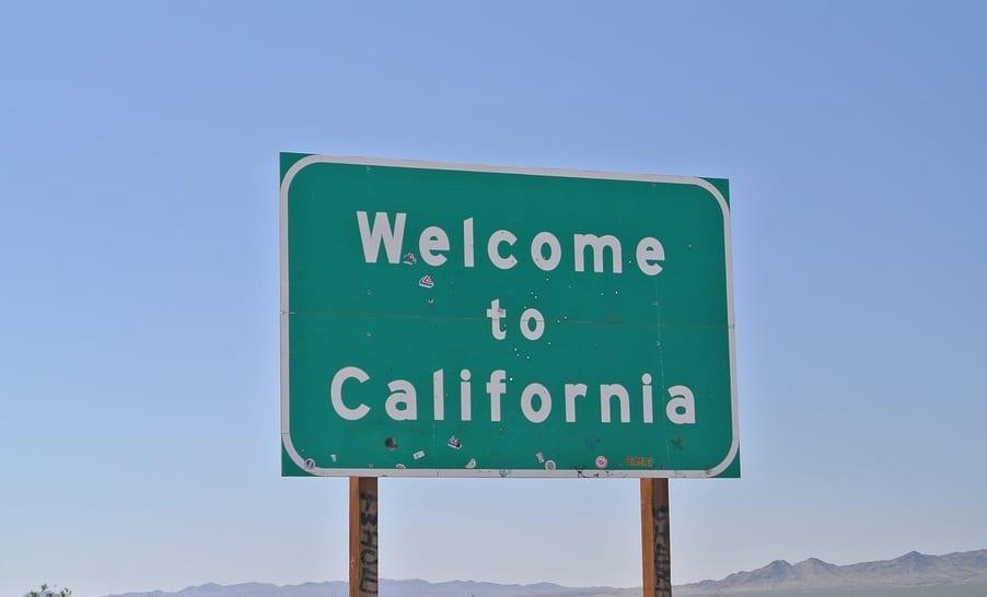 Hydrogen Fuel - California Sign