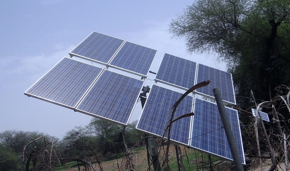 Solar Energy - Solar Panels in Field