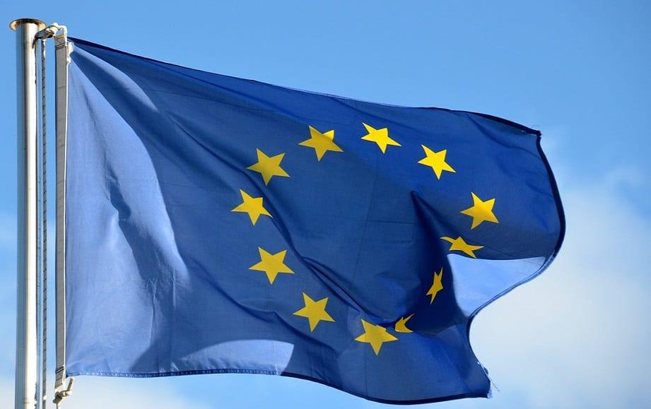 European Union Flag - Hydrogen Fuel in Europe
