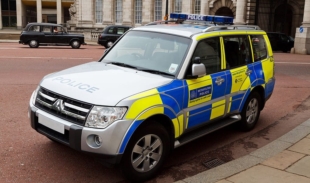 Fuel Cell Vehicles - British Police Vehicle