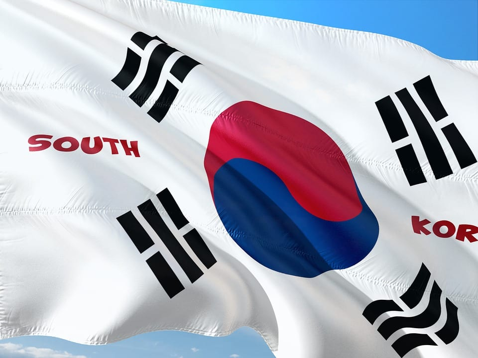 Hydrogen Vehicle - Flag of South Korea