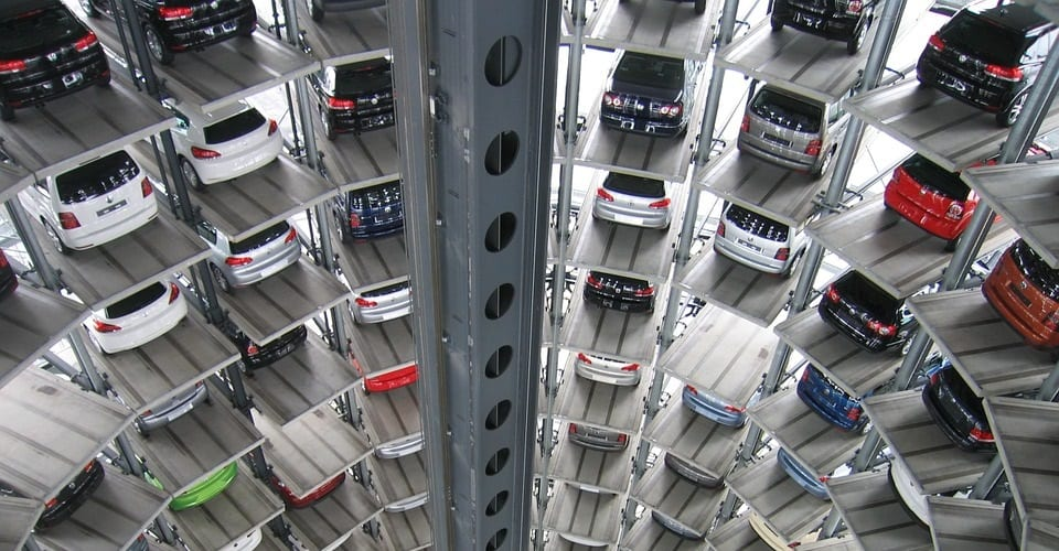 Fuel Cell Vehicles - Multi-level car park