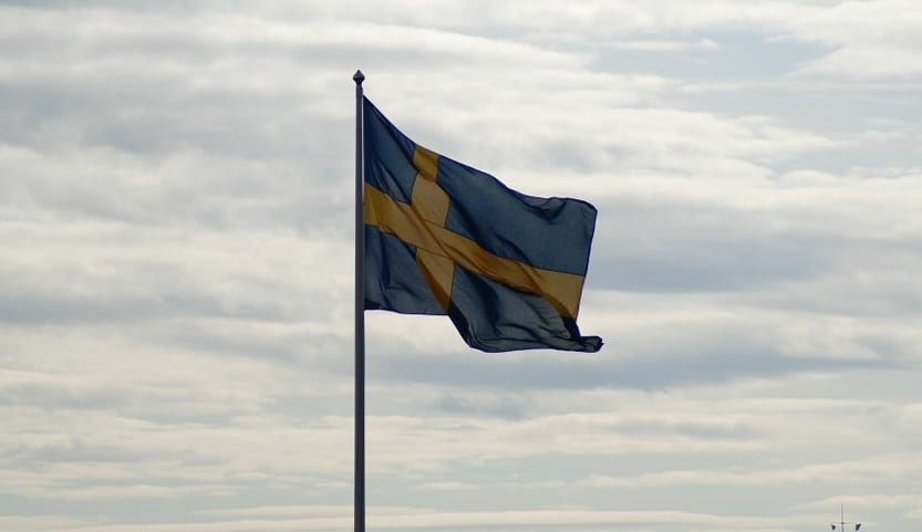 Hydrogen Fuel - Swedish Flag