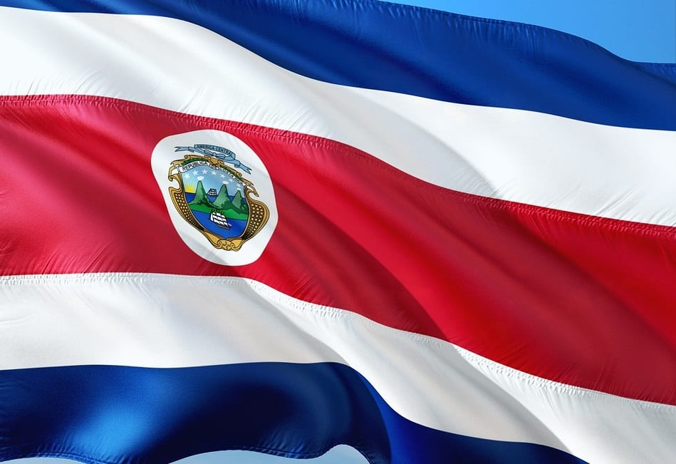Hydrogen Powered Transportation - Costa Rica Flag