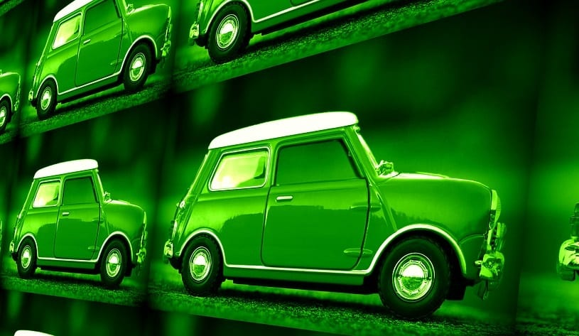 Clean Cars - Image of Green Car