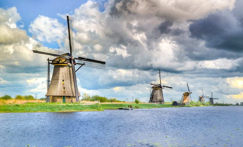 Renewable Power - Windmils in the Netherlands
