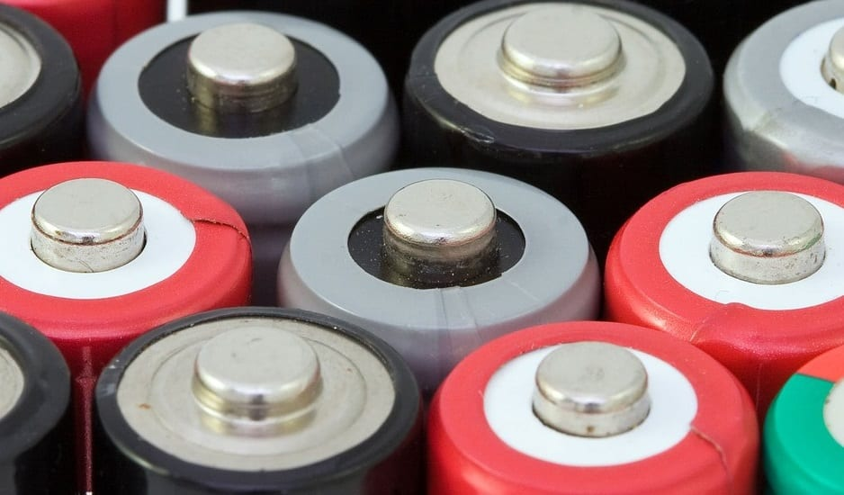 Clean Energy Storage - Image of batteries
