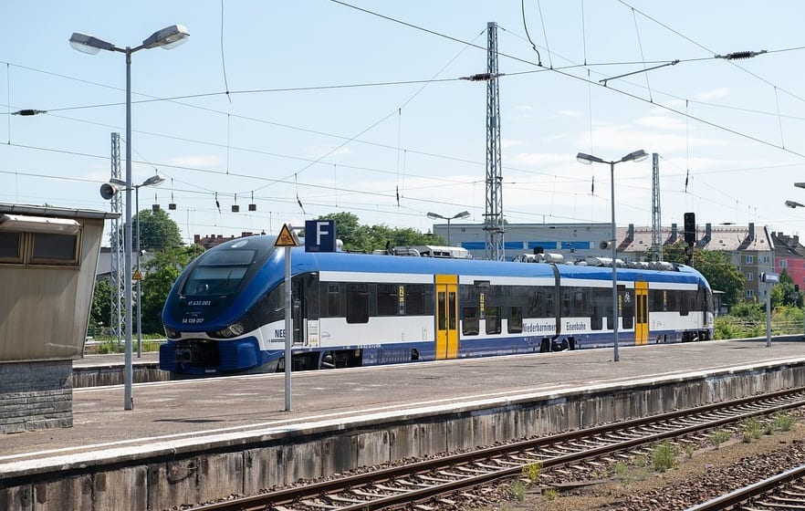 Cordia iLint hydrogen train - Train in Germany