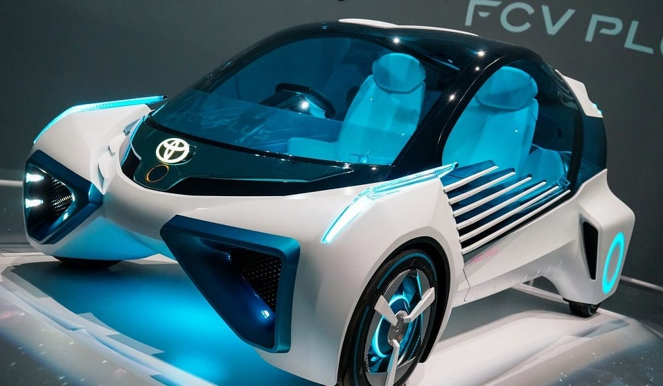 Hydrogen Fuel Vehicle Costs - Toyota FCV Plus Concept Car