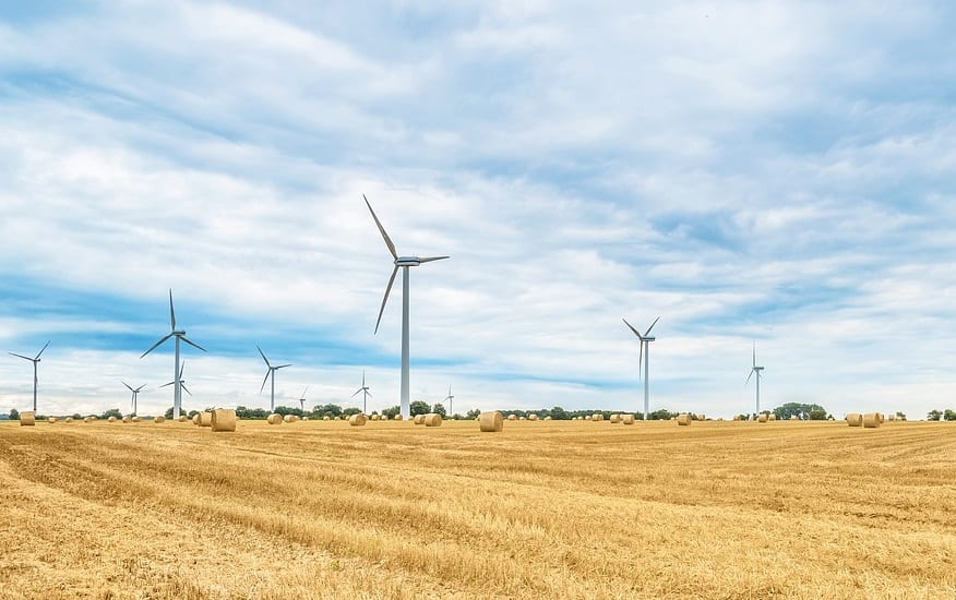 Nestlé uses wind turbine energy to help reach its renewable power target