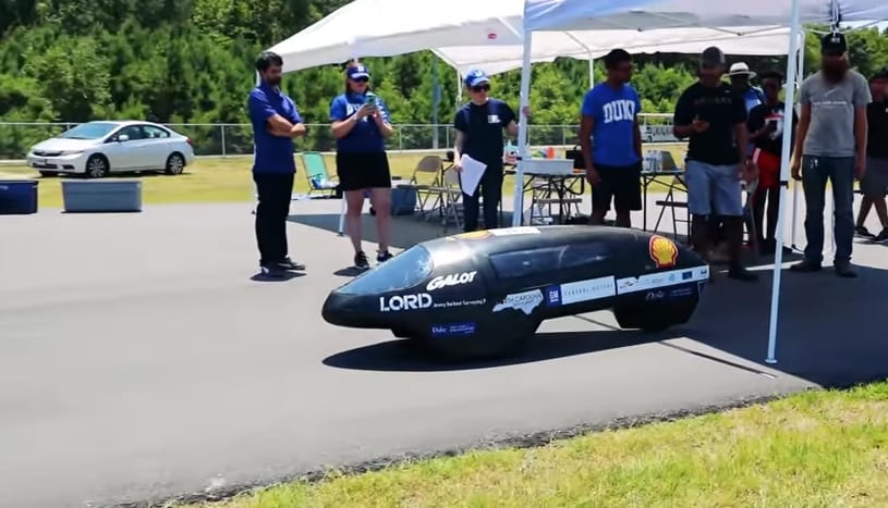 Hydrogen fuel cell car sets new Guiness World Record