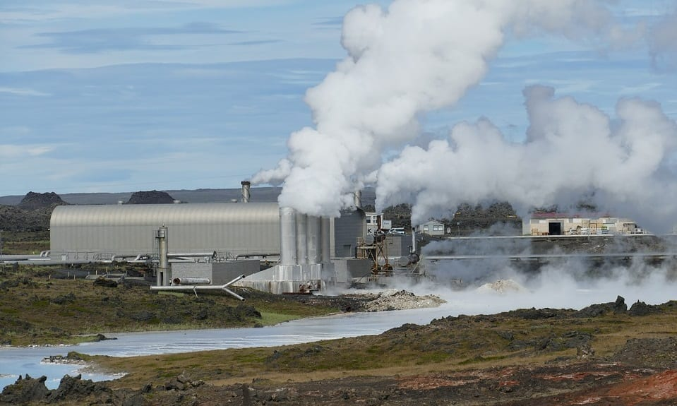 Hydrogen Fuel Production - Geothermal Power Plant in Iceland
