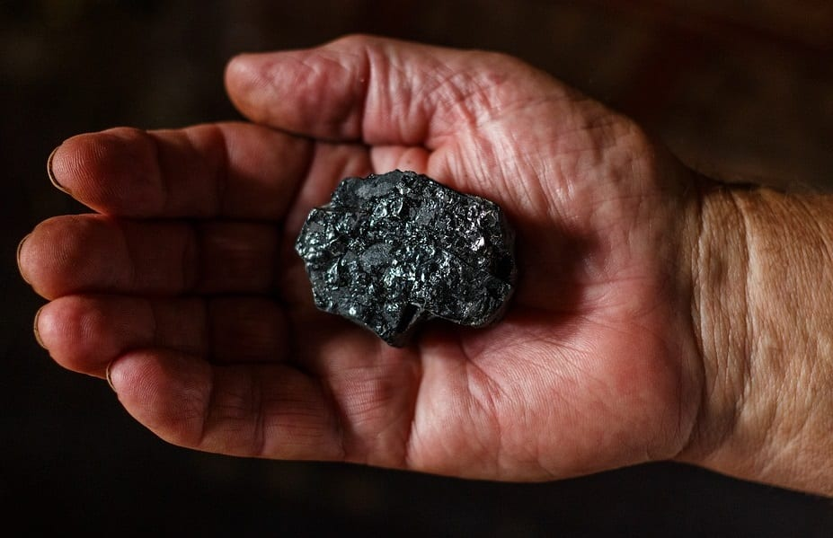 Hydrogen technology - Coal in hand