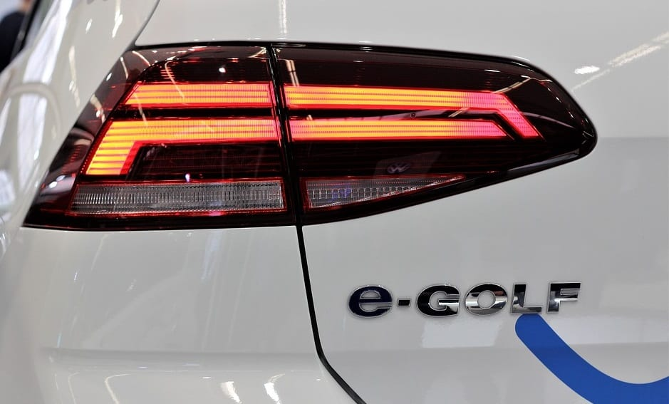 VW electric car - Image of e-Golf