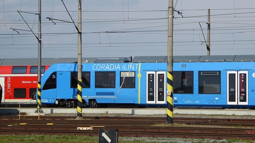 Alstom fuel cell trains - Coradia iLint