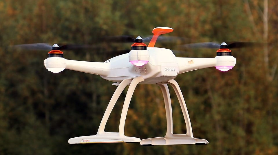 Could hydrogen fuel cells keep drones flying longer?