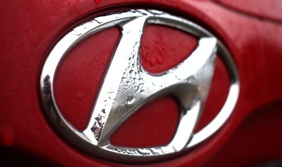 Hyundai hydrogen truck - Hyundai Logo