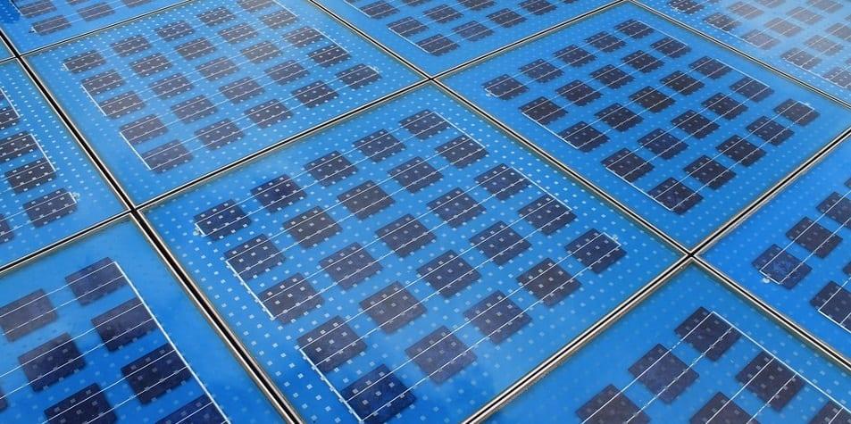 Solar roadway - solar panels
