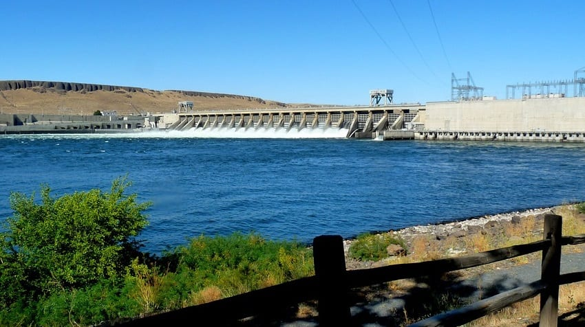 hydro energy - Dam in Oregon