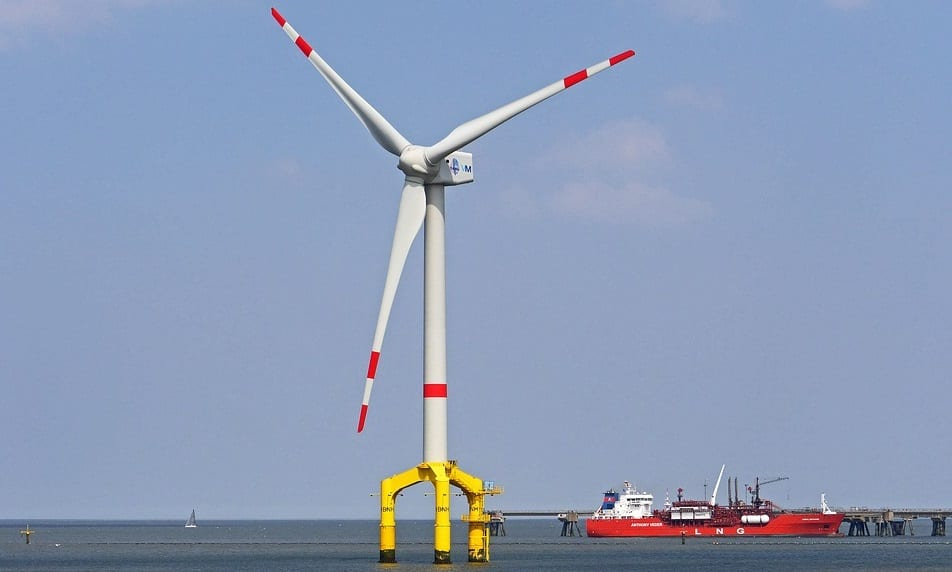 Floating offshore wind - Wind Turbine on Water