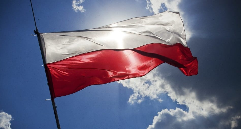 Geothermal heating projects - Poland Flag