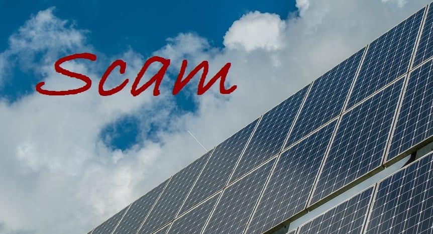 Solar Panels Scam - Solar Panels