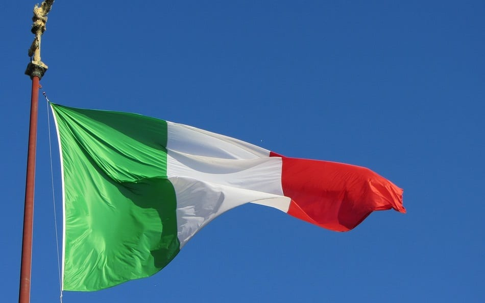 H2 Filling Station - Italian Flag