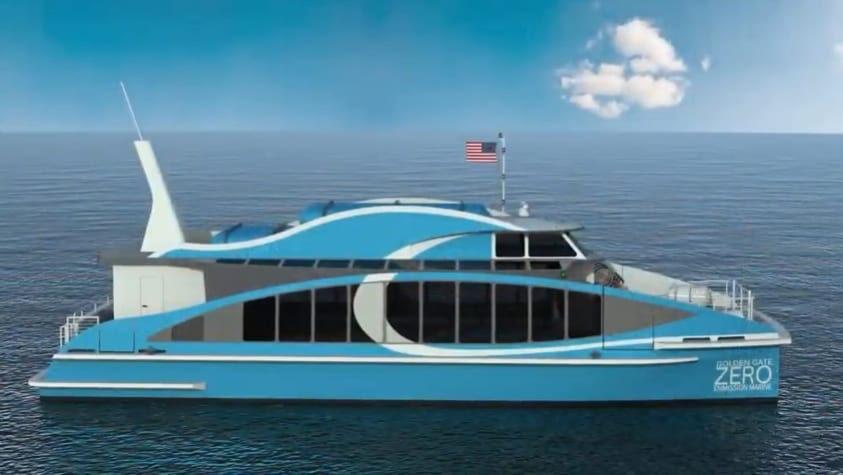 Construction begins on HFC Ferry in San Francisco Bay Area