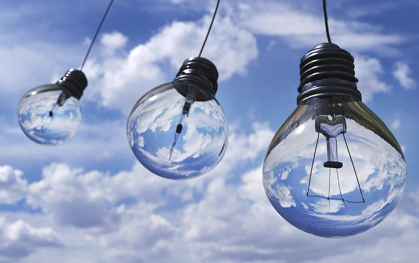 Solar Energy Storage - Light Bulbs Sky