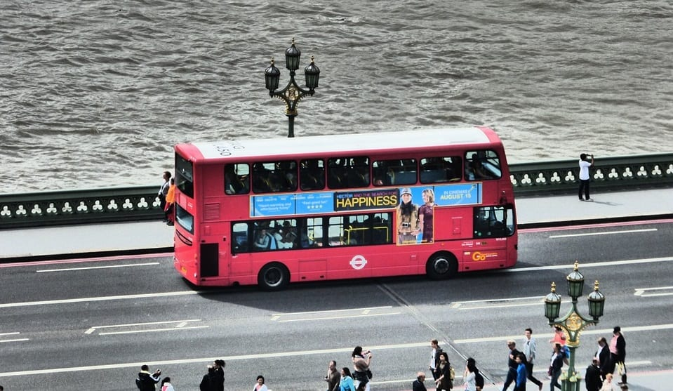 fuel cell double decker bus